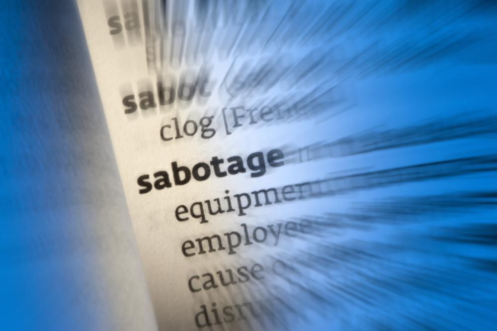 sabotage-dictionary-definition